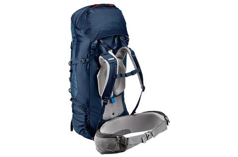 Картинка рюкзак туристический Thule Guidepost 75L Синий/Тёмно-Синий - 2