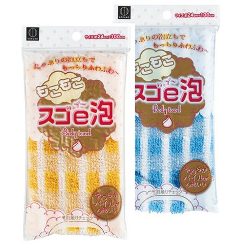 Мочалка для тела, Kokubo, Sugoe - Awa Body Towel, массажная, 24*100 см