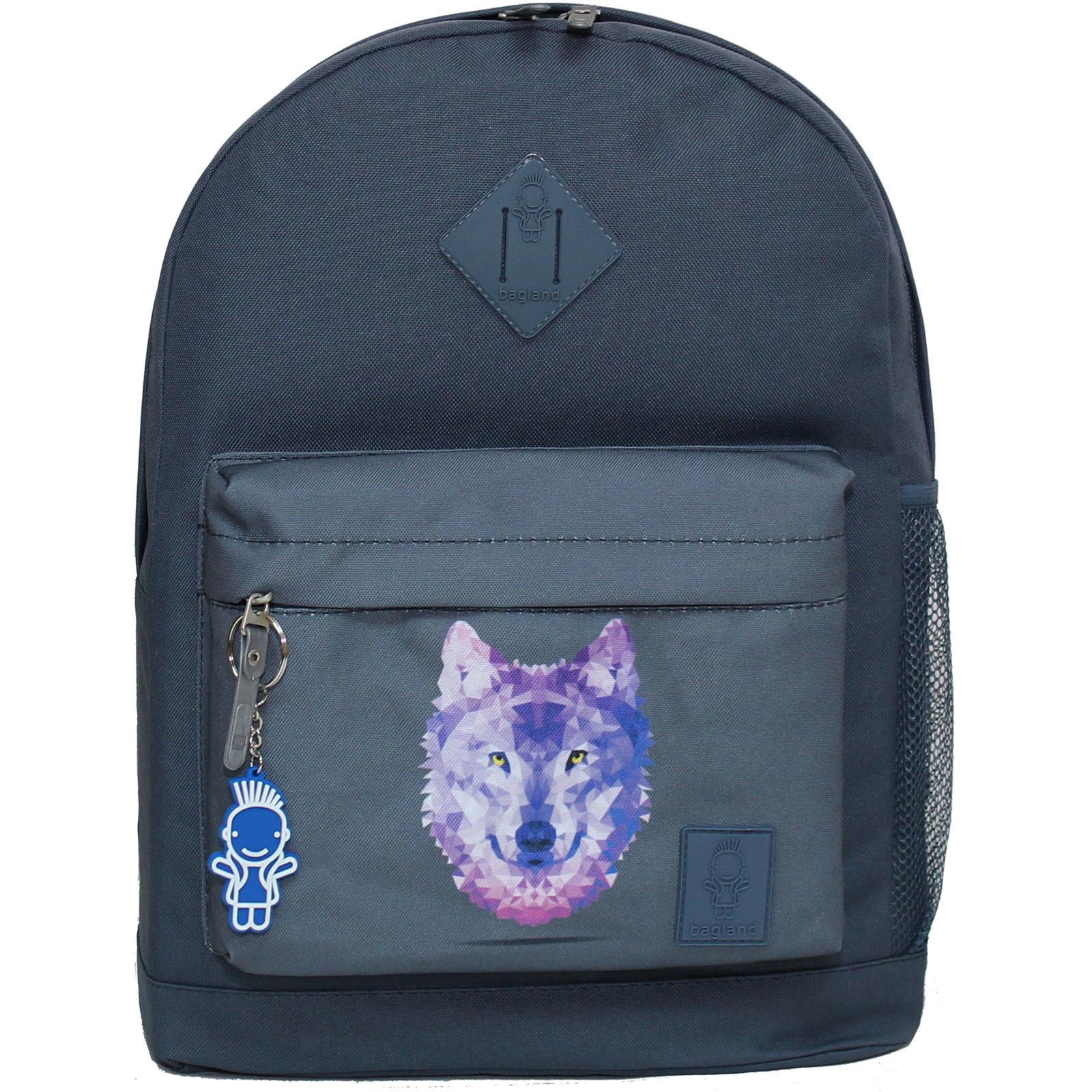 Городские рюкзаки Рюкзак Bagland Молодежный W/R 17 л. серый 158к (00533662) Без_имени-16_158к.jpg