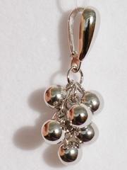 Шары-гроздь 7 (кулон из серебра)