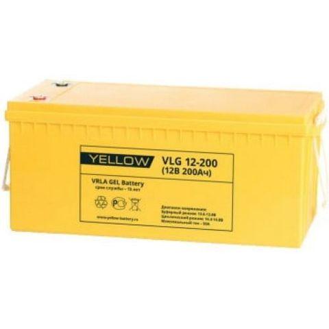 Аккумулятор тяговый YELLOW VLG 12-200 Solar