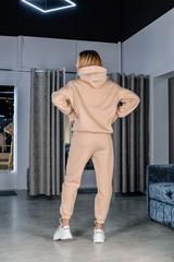 Утепленный флисовый спортивный костюм недорого