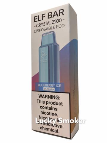 ELF BAR Crystal (2500 затяжек) Blueberry Ice