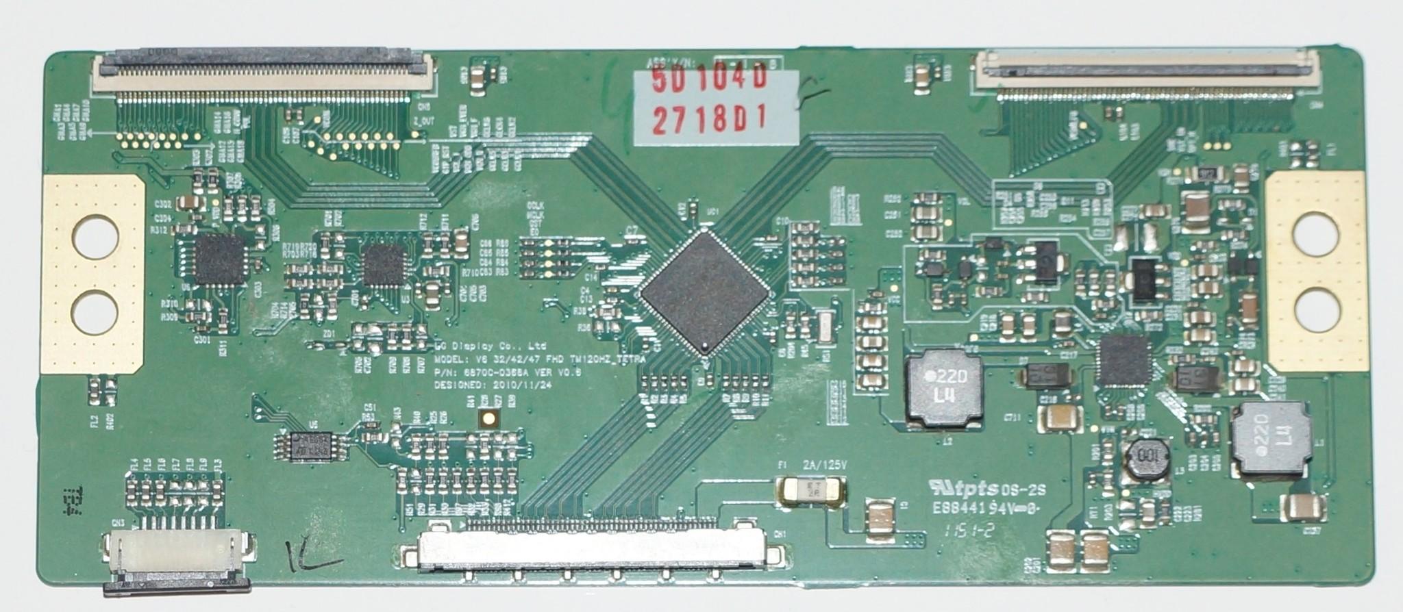6870C-0368A t-con model V6 32/42/47 FHD TM120Hz