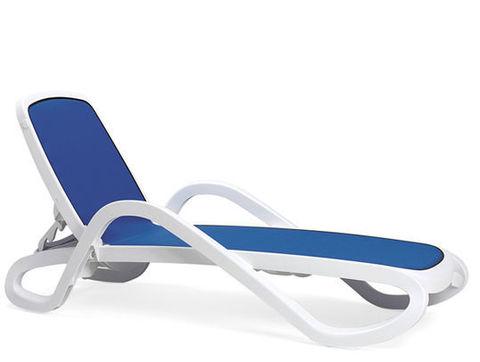 Шезлонг пластиковый Nardi Alfa blue