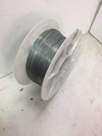 Проволока оцинкованная термообработанная , диаметр  1,1 мм. 1000 м.