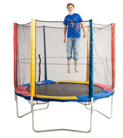 Батут с защитной сеткой и лестницей Sundays Acrobat 312 см - 10 ft