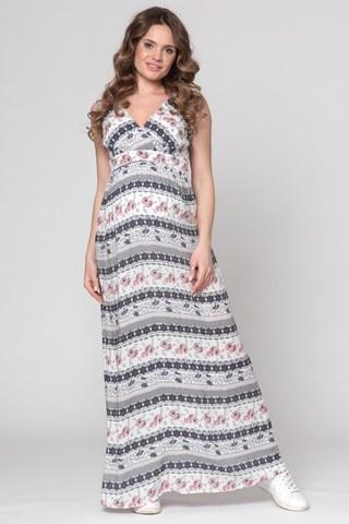 Платье для беременных 06185 разноцветный