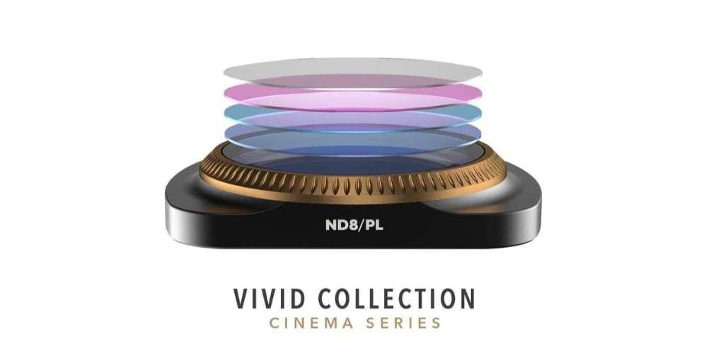 Набор фильтров PolarPro VIVID для DJI Osmo Pocket