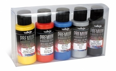 Premium metallic color 5x60ml.