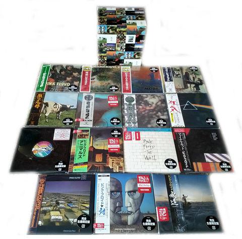 Комплект / Pink Floyd (16 Mini LP CD + Box)