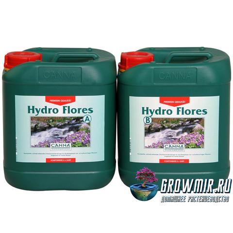 CANNA HYDRO FLORES A+B 5л (SW)
