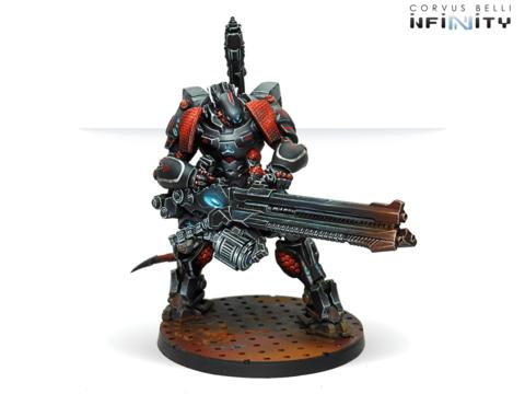 Szalamandra (вооружен Hyper-Rapid Magnetic Cannon)