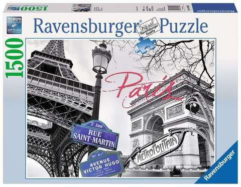 Pazl Paris 1500 pcs