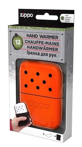 Каталитическая грелка Zippo, сталь с покрытием Blaze Orange, оранжевая, 66x13x99 мм123