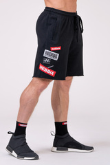 Мужские шорты Nebbia Labels 178 black