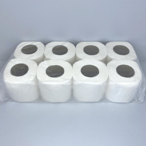 Туалетний папір Papero Джамбо 2сл. 15 м біла (TP020)