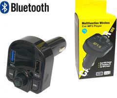 FM-трансмиттер bluetooth, фм модулятор с блютузом для автомобиля, зарядник в машину