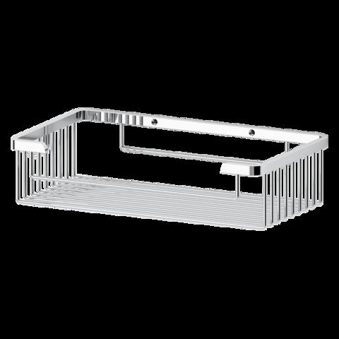 Полочка-решетка прямоугольная глубокая 26 см  RYNA   RYN022 FBS