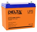 Аккумулятор Delta DTM 1275 L ( 12V 75Ah / 12В 75Ач ) - фотография