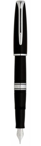 *Перьевая ручка Waterman Charleston, цвет: Black/CT, перо: F (13011 F)