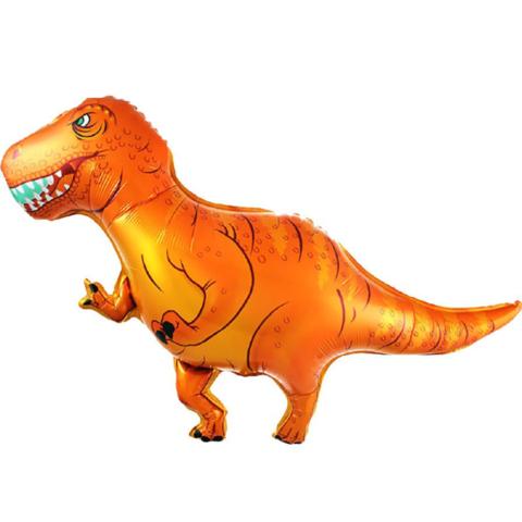 Фольгированный шар «Динозавр Ти-Рекс», 107см