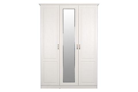 Шкаф комбинированный Ливерпуль 08.45 Моби белый/ясень ваниль