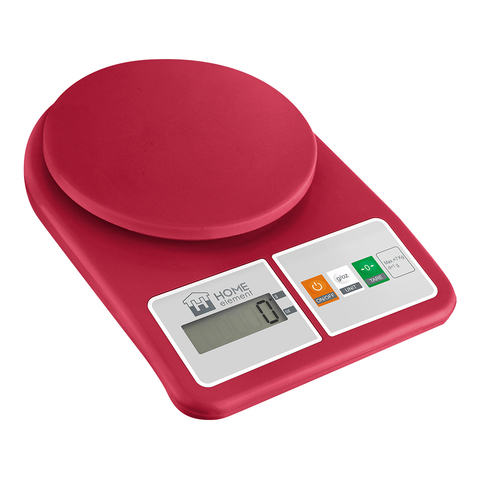 Весы кухонные сенсор HOME ELEMENT HE-SC930 (new20) яркий рубин