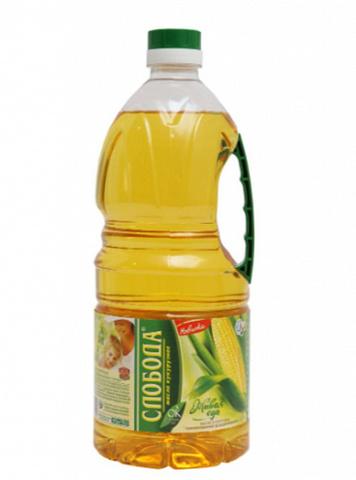 Qarğıdalı yağı \ Кукурузное масло \ Corn oil Слобада 1,8 L