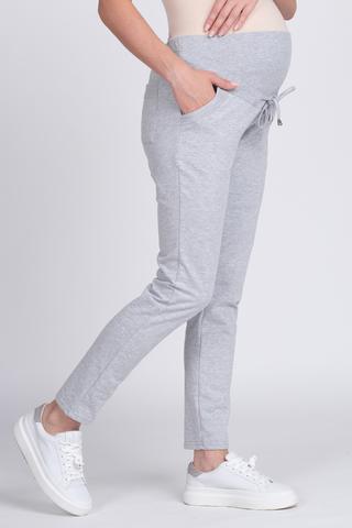 Спортивные брюки для беременных 11771 серый