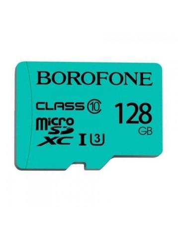 Карта памяти microSDXC BOROFONE 128GB Бирюзовый