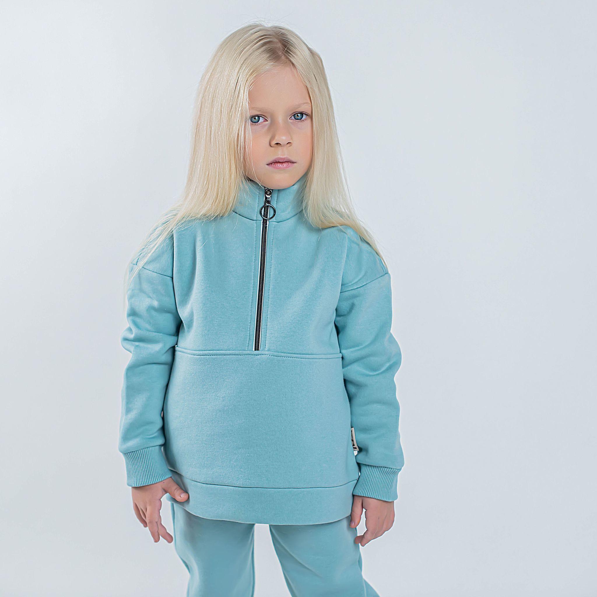 Sporty sweatshirt - Sea Blue