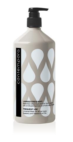 Маска универсальная для всех типов волос с маслом облепихи и маслом маракуйи Contempora