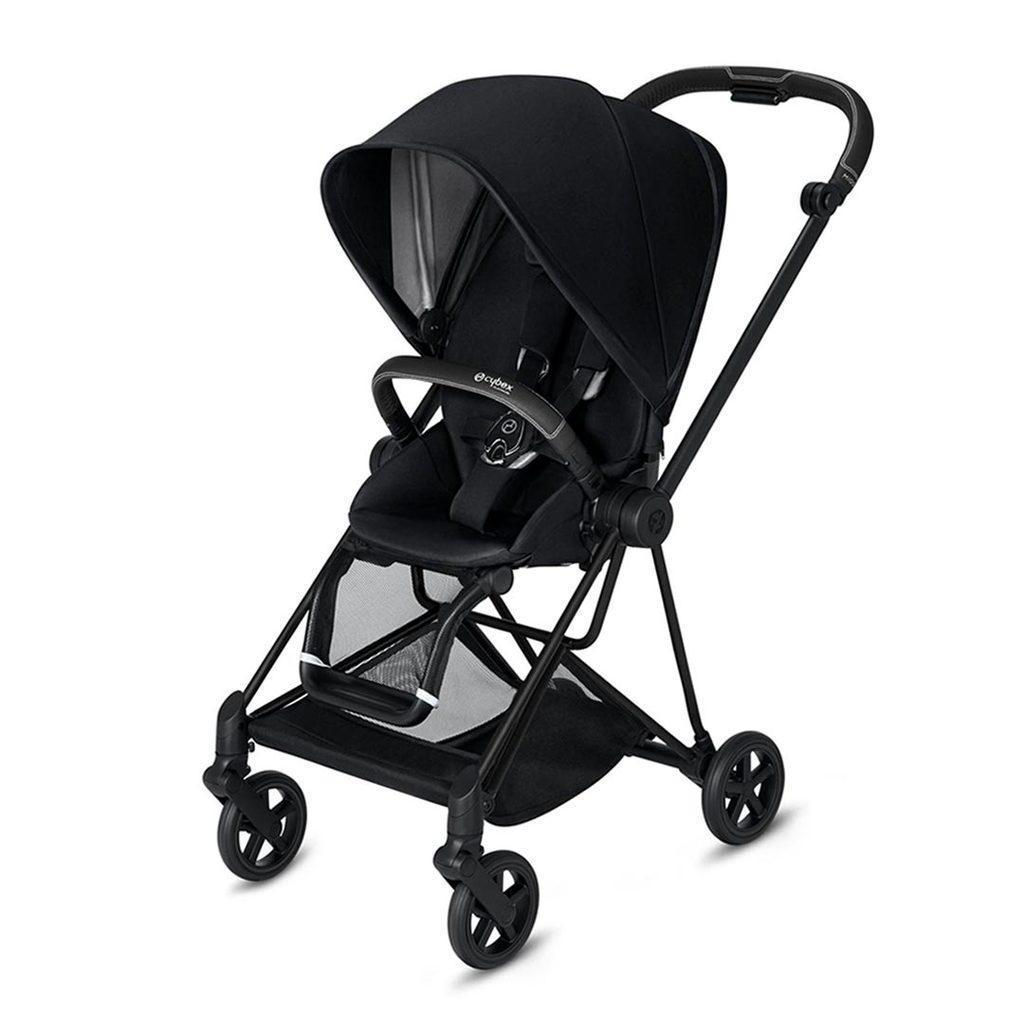 Cybex Mios прогулочная Прогулочная коляска  Cybex Mios Premium Black matt black strollers-cybex-black-cybex-mios-stroller-premium-black-matt-black-112152-31459.jpg