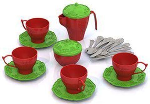 Набор посуды 24пр Чайный сервиз