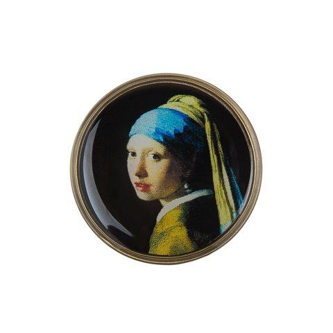 Брошь «Девушка с жемчужной серёжкой» F78471-PERLA