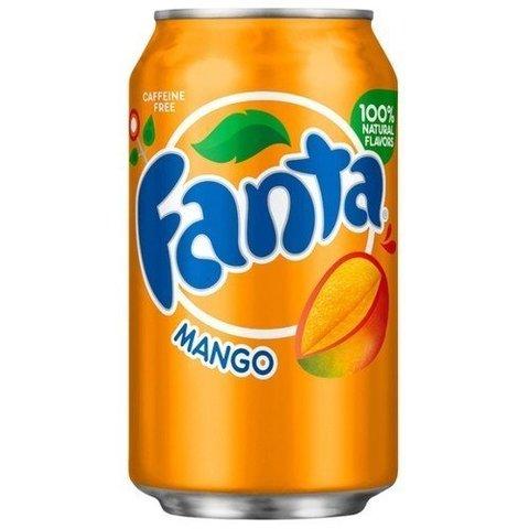 Fanta Mango Фанта Манго 0,355 л