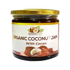 QUEZON'S BEST, Органический кокосовый джем с какао, 265мл