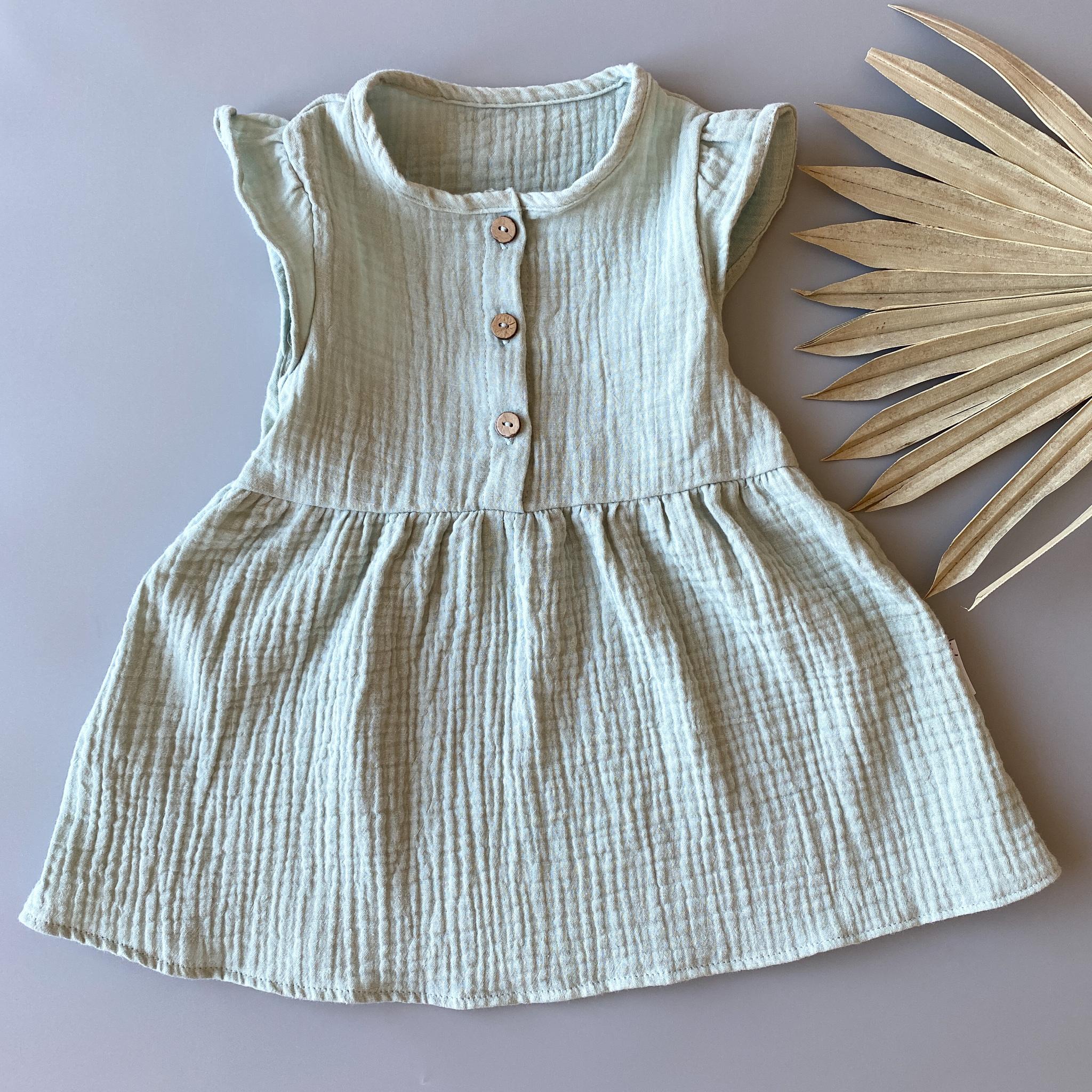 Муслиновое платье «Mint»