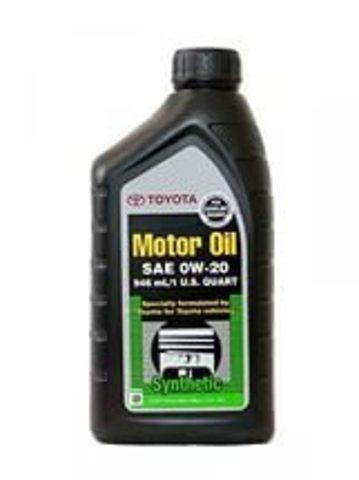 TOYOTA SAE 0W20 API SN / Моторное масло (946мл)