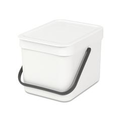 Встраиваемое мусорное ведро Sort & Go (6 л), Белый