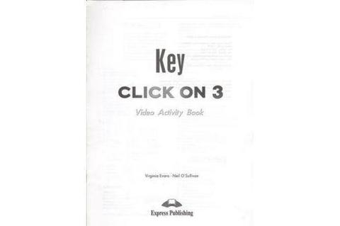 Click on 3 video activity key