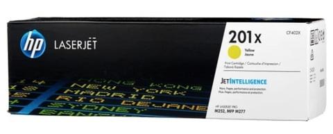 Оригинальный картридж HP CF402X 201X желтый