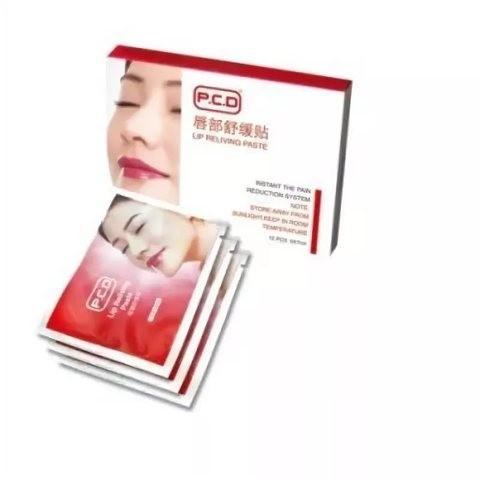 Салфетка для губ PCD с анестетиком 12 шт (упаковка)