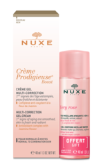 Nuxe Набор CREME PRODIGIEUSE BOOST гель-крем + мицеллярная вода