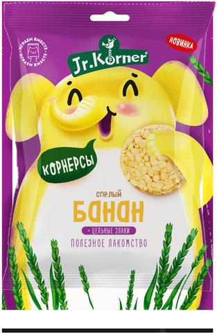 Dr.Korner, Хлебцы хрустящие Рисовая мини хлебцы с бананом 30гр