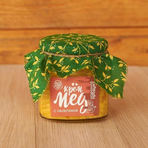 С облепихой Крем-мёд, 300 гр