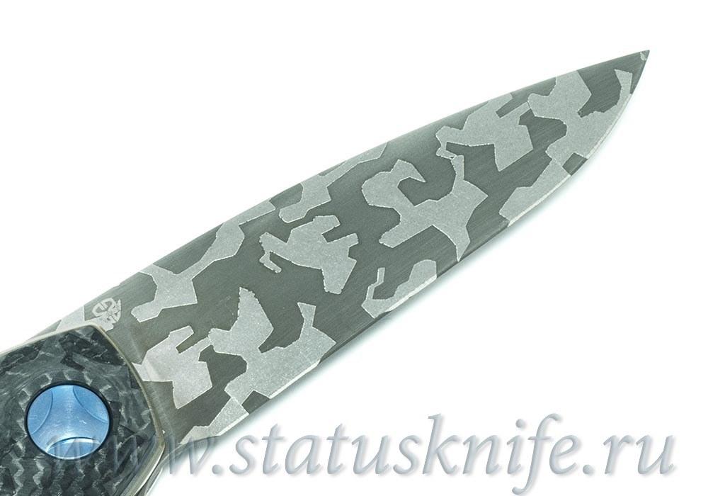Нож CKF Custom Gratch ГРАЧ КАМО - фотография