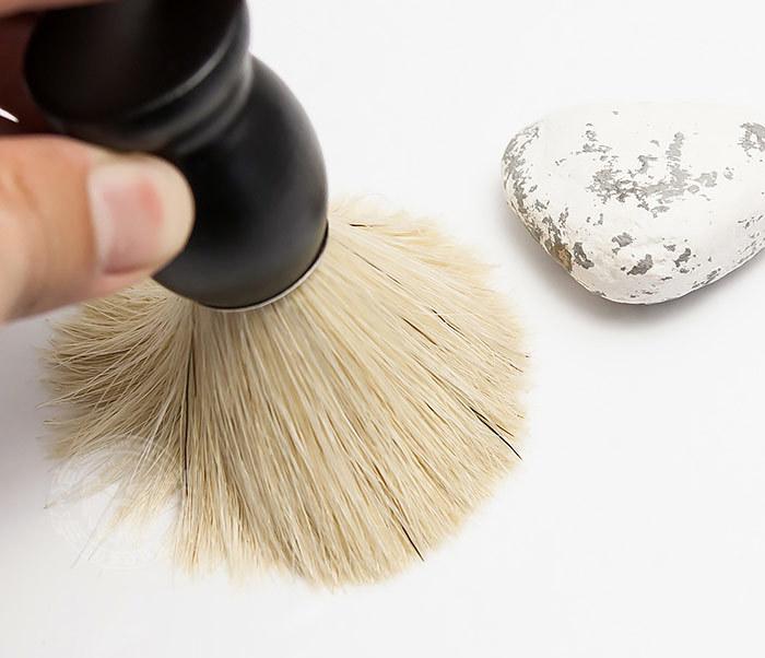 RAZ302-1 Помазок для бритья из щетины кабана фото 06