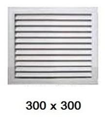 Решетка радиаторная 300*300мм Эра П3030Р